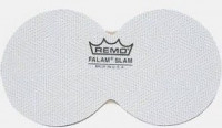 "Remo 2,5"" Patch Falam Slam Twin (1db) fehér"